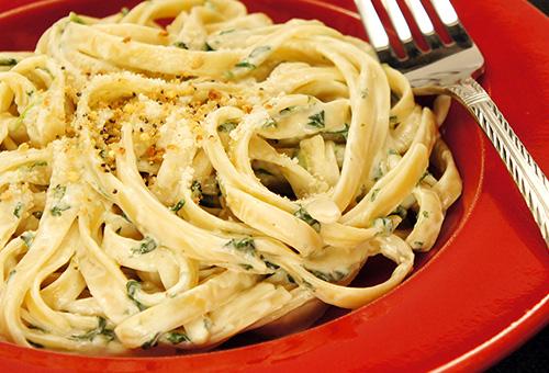 Pin Creamy Spinach Rotini Pasta Recipe Pasta on Pinterest